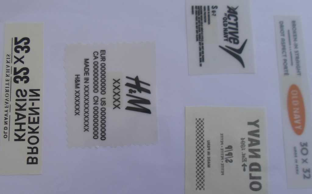 Heat Transfer Label (HTL) Product